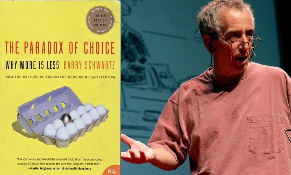 Ep #66: Is Choice Still a Paradox? With Dr. Barry Schwartz